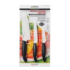 buy kyocera revolution 3 piece ceramic knife set online at low