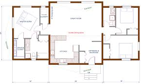 One Level Home Plans Bedroom Ranch House Plans 4 Bedroom House Plans Kerala Style One