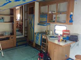how to paint camper interior the noshery