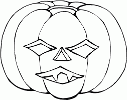 halloween faces template free printable pumpkin coloring pages for kids