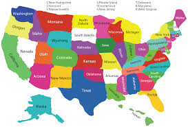 A Map Of America by Usa Satates Map Map Of Usa With Satates Usa Polical Map Map Of