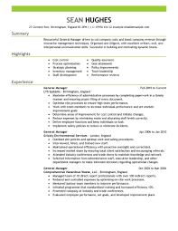 What Is Job Profile In Resume by 11 Amazing Management Resume Examples Livecareer
