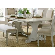 liberty furniture bridgeport trestle table hayneedle