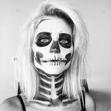halloween makeup tutorial skeleton the nomis niche