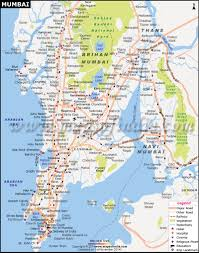 Show Me A Map Of The Middle East by Mumbai Maharashtra City Map Information And Travel Guide