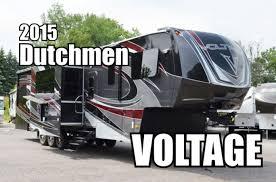 2015 dutchmen voltage 3895 fifth wheel toyhauler youtube