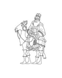 king melchior coloring pages hellokids com