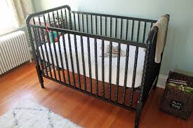 Rug For Baby Room Bedroom Lovely Wooden Jenny Lind Crib With White Bedding And