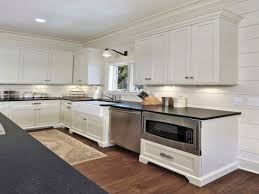 Kitchen Floor Tile Ideas With White Cabinets Kitchen Cabinets White Cabinets Stainless Steel Appliances