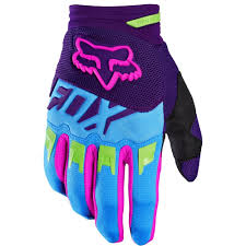ladies motocross gear fox racing 2016 dirtpaw vicious se gloves blue fox racing