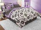 How to Pick Bedding for Teenage Girls: Black White And Purple ...