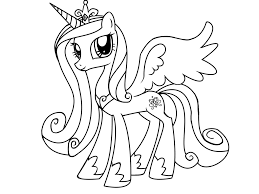 My Little Pony Colouring Pages My Little Pony Coloring Pages Princess Cadence Az Coloring Pages