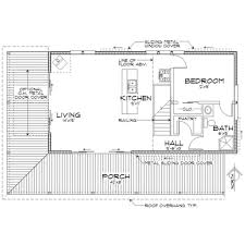 Most Efficient House Plans Cabin Style House Plan 2 Beds 2 00 Baths 1015 Sq Ft Plan 452 3
