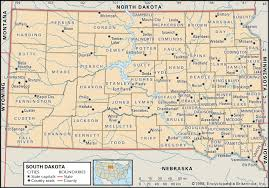 Map Of Florida Cities And Towns by State And County Maps Of South Dakota