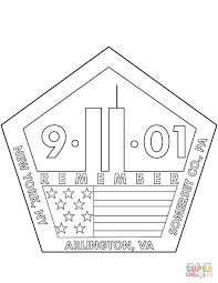 11th september memorial coloring page free printable coloring pages