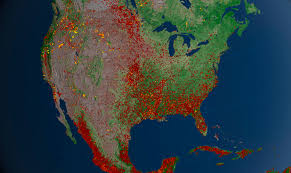 New Mexico Wildfire Map by Wildfires Annual 2012 State Of The Climate National Centers