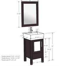 Bathroom Cabinet Height For Vessel Sink Kahtany - Height of bathroom vanity for vessel sink