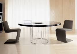 Contemporary Dining Room Table by Dining Room Round Modern Sets Table Talkfremont