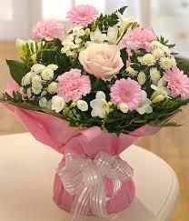 Flowers Delivered Uk - sweetness u0026 light florist choice pink aquapack flower delivery