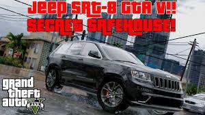 Bmw I8 Jeep - gta 5 mods secret luxury lake house jeep srt 8 bmw i8 youtube