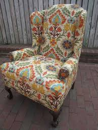 Colorful Accent Chairs by It Is A Nice Thing To Keep The Upholstery Fabric Of The Furniture