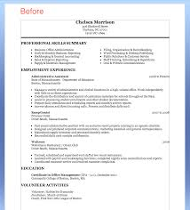 Resume Examples Human Resources Choose Great Administrative Assistant Resumes Administrative