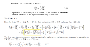homework and exercises   How to prove dp dt    dV dx  Quantum     Physics Stack Exchange enter image description here