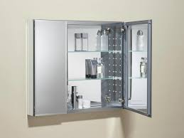 Bathroom Wall Shelving Ideas by Bathroom Mirror With Shelf Wall Tiles Inset Mirror Cabinet With