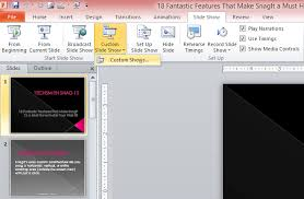 Create a Custom Show in PowerPoint  Beginners Guide