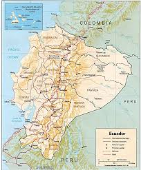 Political Map Of Latin America by Ecuador Map Ecuador Political Map Ecuador Travel Map