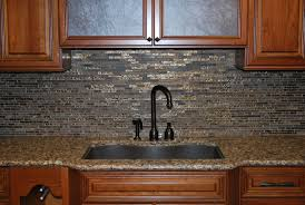 Kitchen Tile Backsplash Design Ideas Decorating Interesting L Shape Kitchen Decoration Using Dark Grey