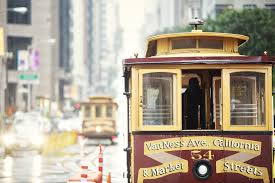 San Francisco Cable Car Map by Getting Around In San Francisco