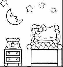 impressive hello kitty christmas coloring pages dokardokarz net