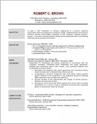 Simple Resume Examples For Students by Effective Resume Examples Examples General Labor Resume Template