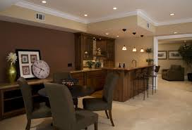 Living Room Colors With Brown Furniture Basement Paint Colors For Soothing Purpose Amaza Design