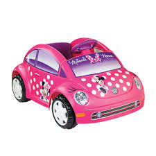 Minnie Mouse Toy Box Power Wheels Fisher Price 6 Volt Volkswagon Ride On Minnie Mouse