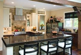 Long Kitchen Island Designs creative ideas for long island kitchen remodeling artbynessa