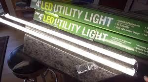 Kitchen Cabinet Lighting Led 4 U0027 Led Utility Tube Lights For Indirect Kitchen Cabinet Lighting