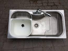 Kitchen Sink Large Single Bowl Stainless Steel Foster Uragano - Foster kitchen sinks
