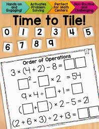 4th Grade Order Of Operations Worksheets Fun With Order Of Operations U2022 Got To Teach