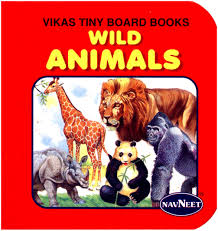 navneet vikas tiny board books wild animals english online in