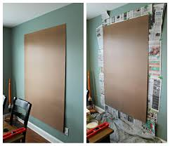 Magnet For Shower Door by How To Make An Easy Diy Giant Magnetic Chalkboard