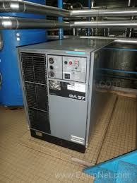 atlas copco ga 37 skid mounted air compressor listing 246753
