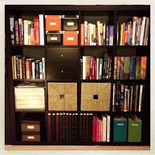 Ikea Wicker Baskets by Furniture Beautiful Espresso Ikea Expedit Bookcase With Storage