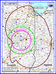 Google Maps Illinois by Broadcast Frequencies U0026 Coverage Areas Illinois Public Media