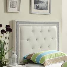 bedroom furniture wingback headboard white upholstered headboard