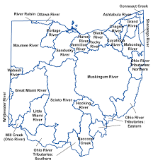 Map Of The Ohio River by Ohio Waterways Map Images Reverse Search