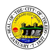 Toledo Ohio Zip Code Map by Cemetery Records