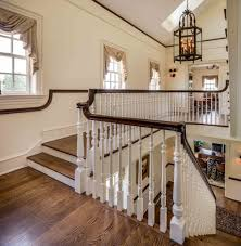 Open Floor Plan Farmhouse Farmhouse Staircase Ideas Staircase Traditional With Traditional