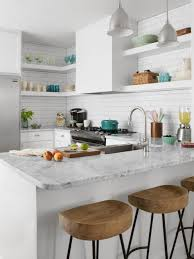Kitchen Ideas With White Cabinets Small Space Kitchen Remodel Hgtv
